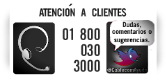 Contactar con Cablecom