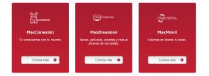 Contratar servicios Maxcom